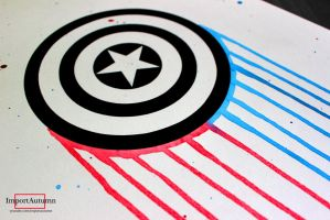 Captain America [Speed Drawing Video] by ImportAutumn