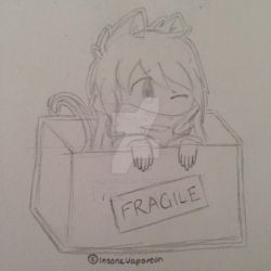 .:smol kitten child:. by InsaneVaporeon