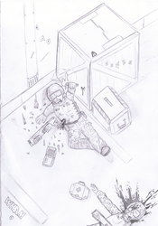 Call for Assistance - Pencil by WHAMtheMAN
