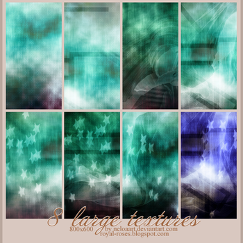 Simple 8 large textures by Neloaart