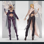 (CLOSED) Adoptable Outfit Auction 277-278 by JawitReen