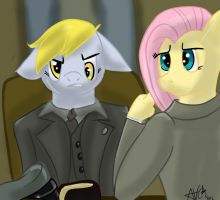 The Meeting ( a FlutterCommunist Request) Shaded by Andyvc92