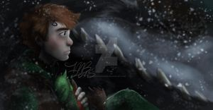 Hiccup the Outcast by InstantDoodles13