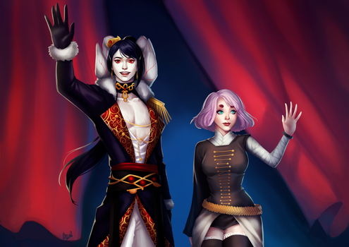 [C] Casimiria And Cerise by Wernope