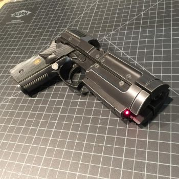 Timecop blaster LED by Matsucorp