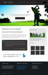 Currangolf Web design by TheArtofDesigning