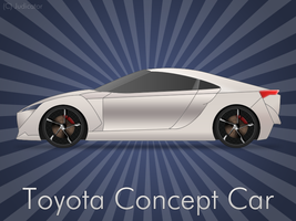 Toyota Concept Car by cruzerDESIGN