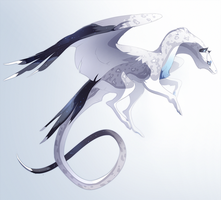 Pale Dragon by QuillCoil