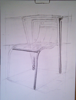 Chair 2 (not finished) by Ewwwa