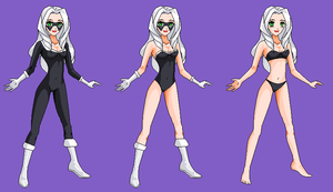Black Cat-  Wreck-It Ralph RP Fantasy outfits by Dinalfos5