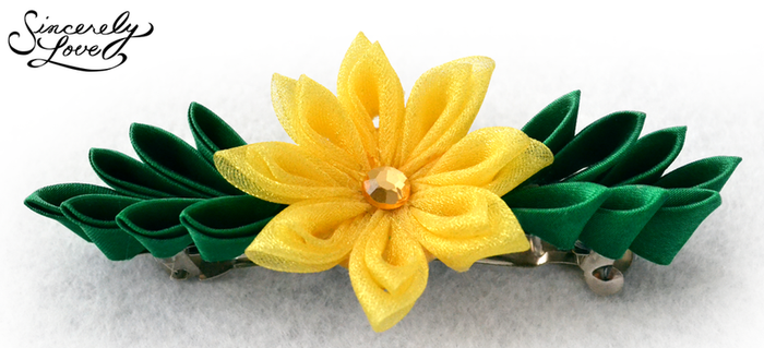 Forest Sunshine Kanzashi by SincerelyLove