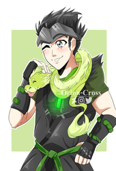 Young Genji by Orion-Cross