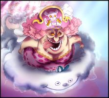 One Piece 873 - Bigmom's rage by Eyaririri