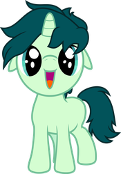 Spectral Song - Cute li'l colt by RAGErER