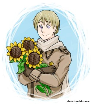 Sunflowers Once More by iAlly