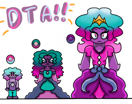 (CLOSED) DTA Creativity Aura Quartz adopts!! by ButtonmashMC