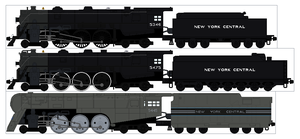 New York Central Hudson Sprite by Diamond-Jubilee