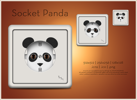 Socket Panda Icon by SoundForge