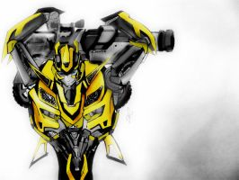 Bumble bee color version by autodi