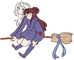 RQ: Diana and Akko by NekoSister