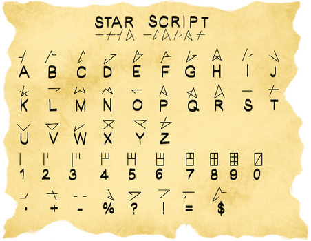 Star Script by Shinobi-Kitty