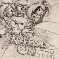 Nicktoons...UNITE by Nicktoonacle