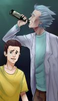 Rick And Morty by OrcaLx