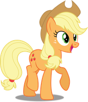 Vector #379 - Applejack #19 by DashieSparkle