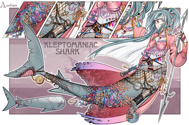 Kleptomaniac shark adopt auction (closed) by ADOPT-PLANET