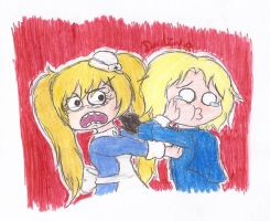 APH - STAY AWAY FROM ME, FROG by Rainbowspark88