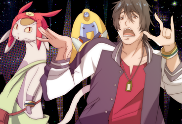 Space Dandy by Fuugen