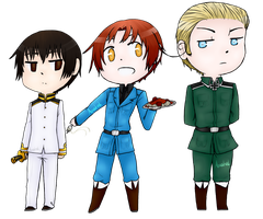 Hetalia - Axis Powers [Digital] by RabentheHedgehog15