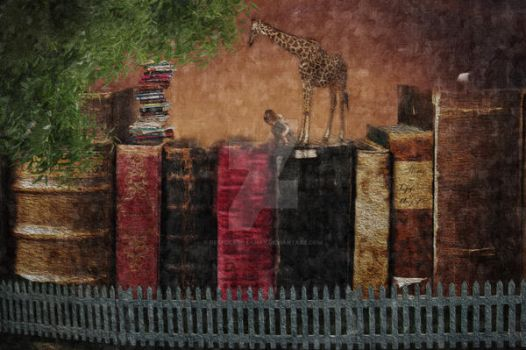 Reading is knowledge by RebeccaDillahay
