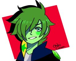 request:Greentopaz213 by ChibiConan