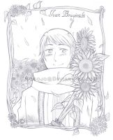 APH_Sunflower Dreams_ Lineart by Nogojo