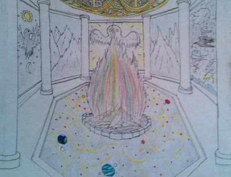 Chamber of the Eternal Flame - Nevermore by goldfinch63
