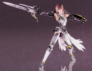 Lightning - Valkyrie's Dance - 02 by HentaiAhegaoLover