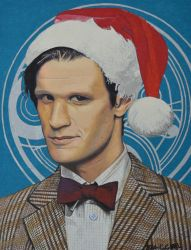 Matt Smith  as 11th Dr Who by EclepticGears
