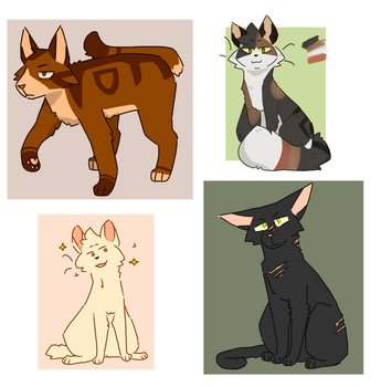 some more cats by zekross