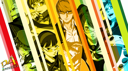 Persona 4 Wallpaper by CrossXAce