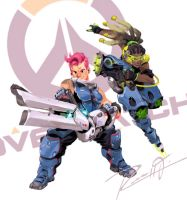Overwatch by russell-o