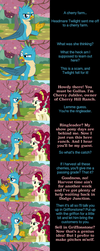 Gallus Says Goodnight by MLP-Silver-Quill