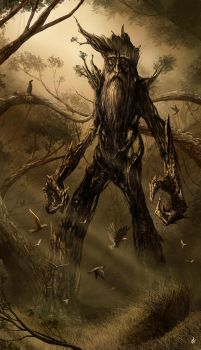 Fangorn by thalion-art