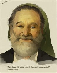 R.I.P. Robin Williams by IJKelly
