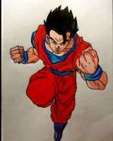 Ultimate Gohan by Demy by Demy111