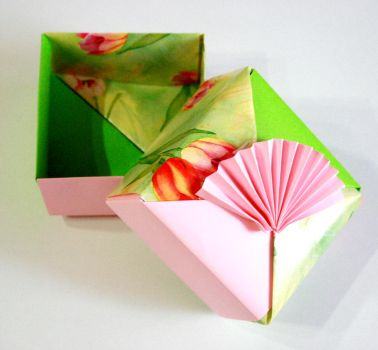 Origami Boxes by HuShLoOp
