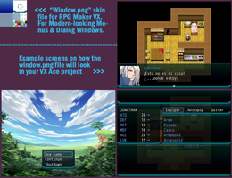 * window * Sys file for RPG Maker VXAce + Examples by bang-bunny