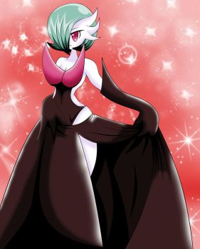 Shiny Mega-Gardevoir by Lucky-JJ