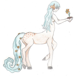 Centaur Woman Colored by Serenity-999