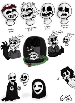 IMSCARED sketch dump by JacksonTheCat
